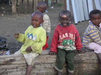 Orphans in the Mathare Slums