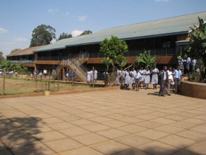 Primary School for orphans of Nairobi, Kenya